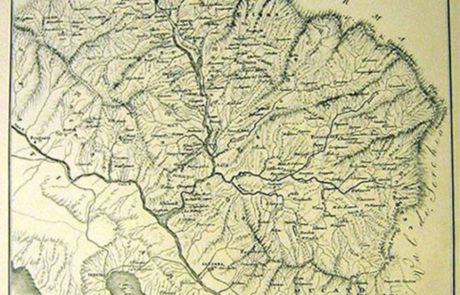mappa valle magra