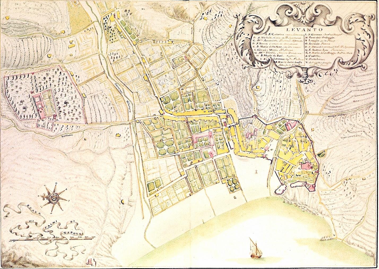 Levanto-Mappa